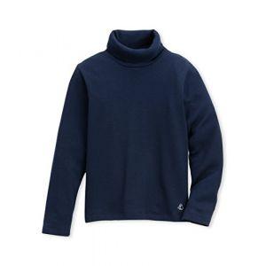 Petit Bateau 14554 - Pull - Manches longues - Enfant Mixte - Bleu (Abysse 13) - Taille: 10 ans
