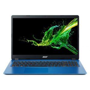 """Acer A315-56-35F5 BLEU Intel® CoreT i3-1005G1 -8GoDDR4 512 GoSSD- Intel® HD Graphics 15.6"""" HD 1366x768 Mate WIN 10 - PC portable"""