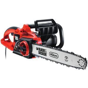 Black & Decker GK2240T - Tronçonneuse 40cm 2200W avec tendeur de chaîne sans outil
