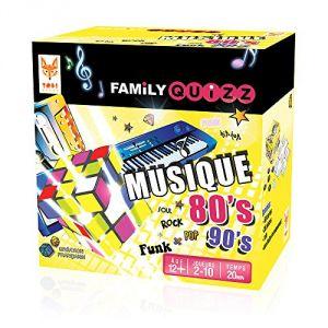 Topi games Family Quizz musique 80's 90's