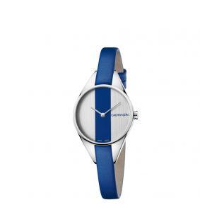 Calvin Klein Montre Femme Rebel Bleu