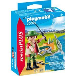 Playmobil Pêcheur à la ligne Special Plus 70063