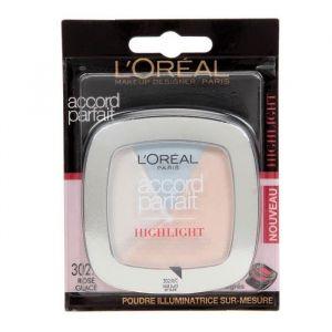 L'Oréal Accord Parfait Highlight - Enlumineur poudre 302 glacé