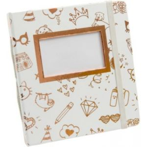 Image de HP Album Blanc et Or Sprocket - 2HS31A