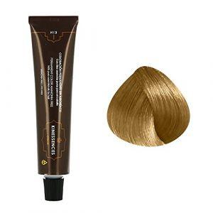 Kin Cosmetics Coloration permanente sans ammoniaque aux 5 huiles 9.3 : Blond Très Clair Doré Sans ammoniaque, Crème 60ml