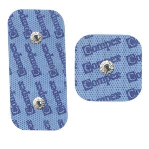 Compex 42216 - 2 électrodes Easy Snap 5 x 10 cm