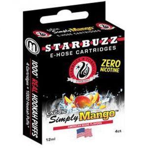 Starbuzz Simply Mango - Cartouche pour chicha électronique