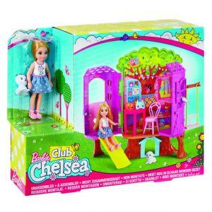 Mattel Barbie Coffret Chelsea cabane dans les arbres