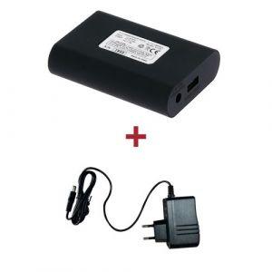 VQuattro Batterie + Chargeur pour veste chauffante 12 Volts