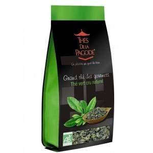 Thés de la pagode Thé vert naturel bio 110 gr