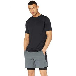 Under Armour Sportstyle Left Chest S/S - T-shirt technique taille L - Regular, noir
