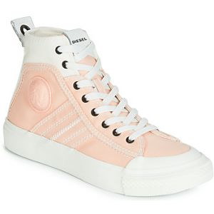 Diesel Baskets montantes S-ASTICO MID LACE W rose - Taille 38,39,40