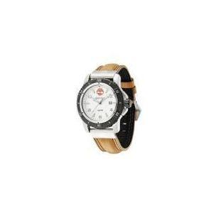Timberland T13327JSTB - Montre pour homme avec bracelet en cuir