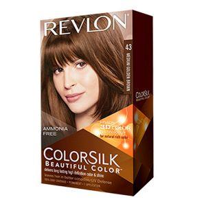 Revlon Colorsilk 43 châtain doré moyen - Coloration permanente sans amoniaque