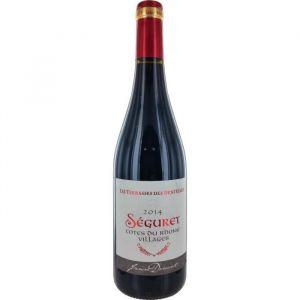 SEGURET Dentel Vin de la Vallée du Rhône - Rouge - 75 cl