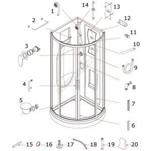 tuyau flexible douche comparer 300 offres. Black Bedroom Furniture Sets. Home Design Ideas