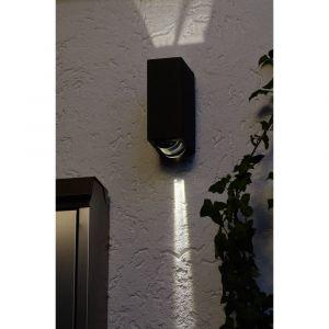 Lutec Applique murale LED extérieure ECO-Light Evans 1862 GR LED intégrée anthracite