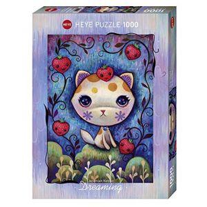 Heye Puzzle 1000 Pièces : Strawberry Kitty