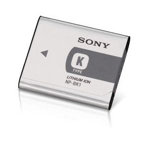Sony InfoLithium K-type NP-BK1 - Pile pour appareil photo Li-Ion 970 mAh - pour bloggie MHS-CM5, PM5; Cyber-shot DSC-S950, S980, W180, W190, W370; Webbie HD MHS-PM1