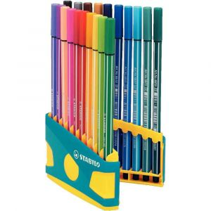 Stabilo ColorParade Pen 68 lilas x 20 Assortis