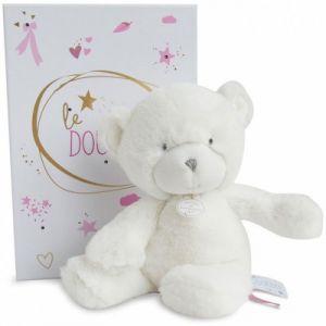 Doudou et Compagnie Peluche pantin ours rose Le Doudou (20 cm)