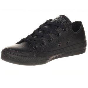 Converse All Star Ox Leather, Chaussure de Sport Mixte Adulte, Noir (Black), 36 EU