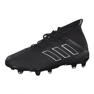 Adidas Predator 18.1 FG, Chaussures de Football Homme, Noir (Negbás/Ftwbla 000), 42 EU