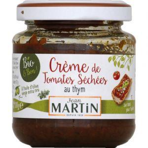Jean martin Creme de tomates sechees au thym bio