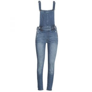 G-Star Raw Combinaisons Raw LYNN HIGH SLIM NAVY OVERALL bleu - Taille US 28,US 29,US 30,US 27,US 26,US 32