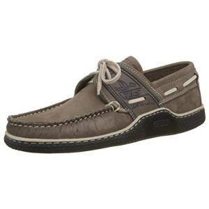 Tbs Globek, Chaussures Bateau Hommes, Marron (Tabac + Marine D8I55), 41 EU
