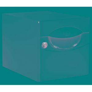 Decayeux Boîte aux lettres avec porte-nom Iguane - Blanc - Double face