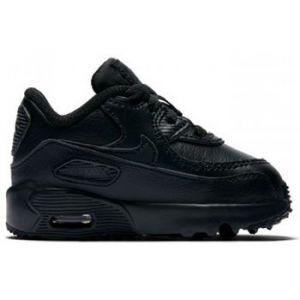 Nike Chaussure Air Max 90 Leather pour Bébé/Petit enfant - Noir - Taille 19.5 - Unisex