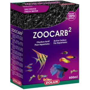 Zolux Zoocarb2 Charbon Végétal 600 Ml
