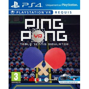 VR Ping Pong : Table Tennis Simulator sur PS4