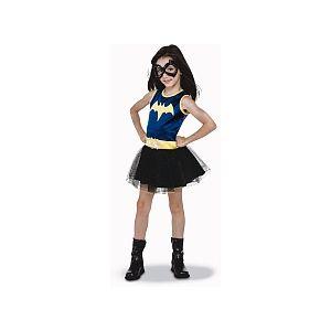Rubie's Déguisement Luxe - DC Super Héro Girls - Batgirl - Taille M (5-6 ans)