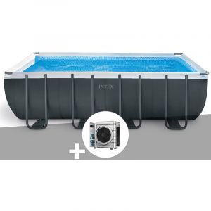 Intex Kit piscine tubulaire Ultra XTR Frame rectangulaire 5,49 x 2,74 x 1,32 m + Pompe à chaleur