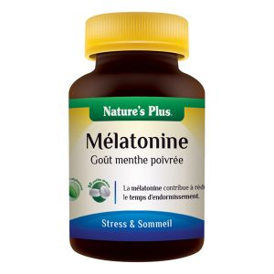 Nature's Plus Melatonine - 30 pastilles secables