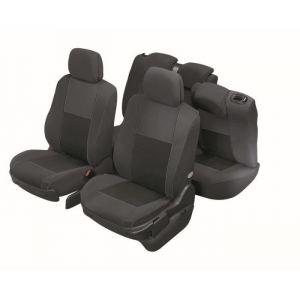 DBS 1012594 Housse de siège Auto / Voiture - Sur Mesure - Finition Haut de Gamme - Montage Rapide - Compatible Airbag - Isofix