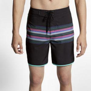 Nike Boardshort Hurley Phantom Baja Malibu 45,5 cm pour Homme - Noir - Couleur Noir - Taille 34