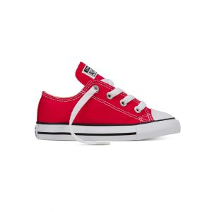 Converse Baskets basses CHUCK TAYLOR ALL STAR OX CANVAS Rouge - Taille 35;34;19;20;21;22;23;24;25;26;18;27;28;29;30;31;33;32