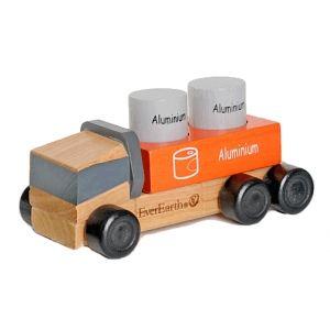 Image de EverEarth Camion Eco-Recycler en bois