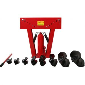 Trad4u Varan Motors Cintreuse hydraulique 16T presse à cintrer tube tuyau plomberie 8 matrices