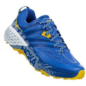 Hoka One One Speedgoat 3 Chaussures de trail Femme, palace blue/bamboo US 7 | EU 38 2/3 Chaussures trail