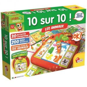Lisciani Giochi 10 sur 10 : Les animaux