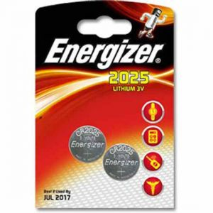 Energizer CR2025 piles x2