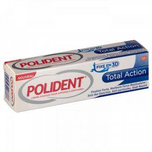 Polident Total Action - Crème fixative pour appareils dentaires