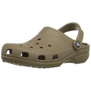 Crocs Classic, Sabots Mixte Adulte, Marron (Khaki), 41-42 EU