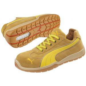 Puma Safety 642670 chaussure de sécurité Taille 43 beige, jaune