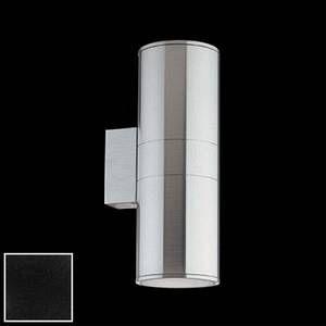 Ideal lux Applique extérieure design Gun Noir Aluminium 092317 Aluminium Noir