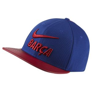 Nike Casquette réglable FC Barcelona - Bleu - Taille Einheitsgröße - Unisex